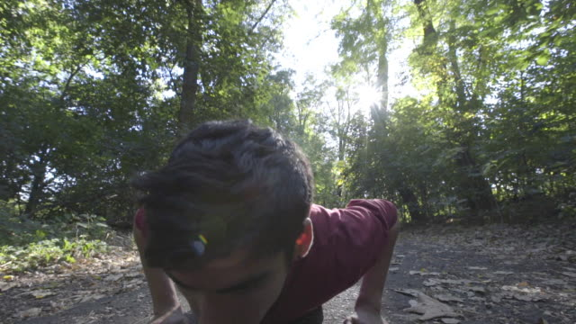 pushups - bodyweight training stock videos & royalty-free footage