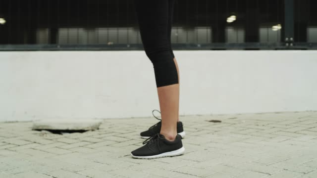 put on your running shoes and run! - self discipline stock videos & royalty-free footage