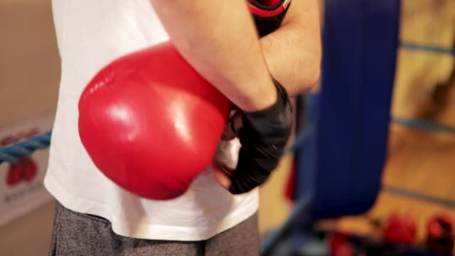 Putting Boxing Gloves On