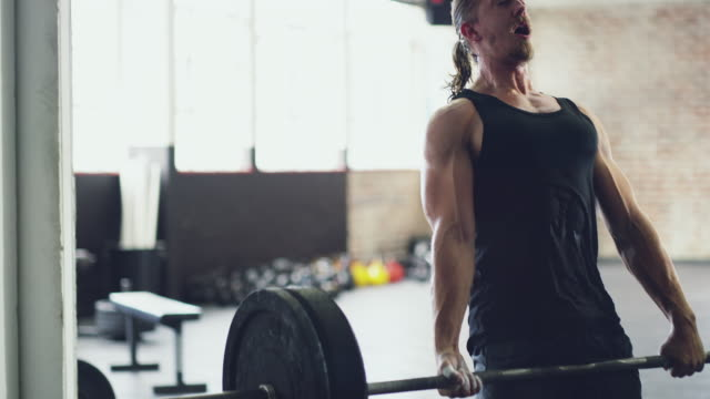 Putting his muscles to the ultimate test