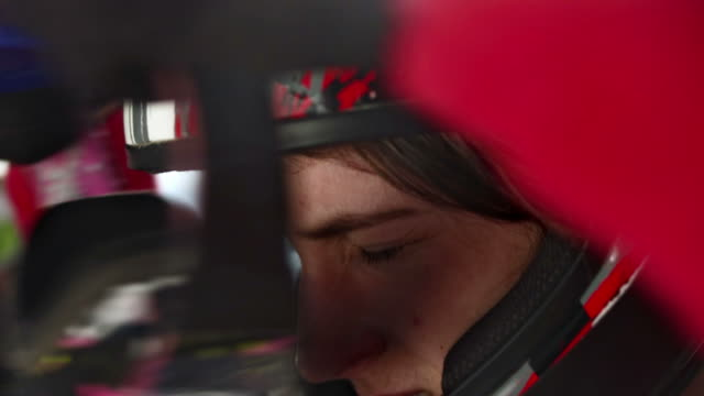 hd: putting on mountain bike goggles - racing bicycle stock videos and b-roll footage