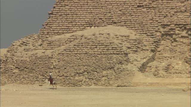 zo, ms, pyramid of djoser, saqqara, egypt - saqqara stock videos and b-roll footage