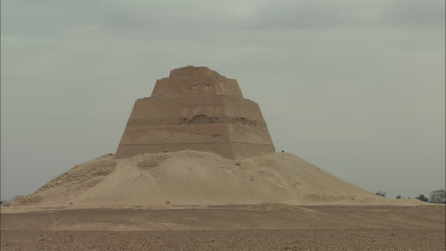 MS, Pyramid of Sneferu, Meidum, Egypt
