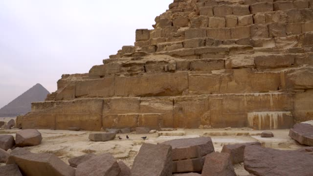 pyramids in giza, egypt. - egypt stock videos & royalty-free footage