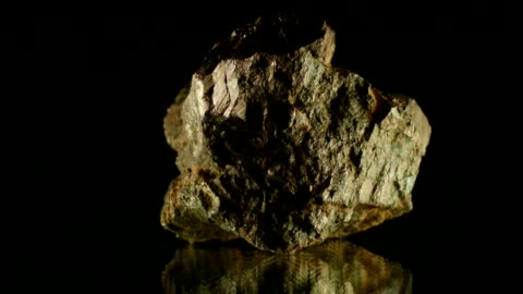 pyrite on black - mineral stock videos & royalty-free footage