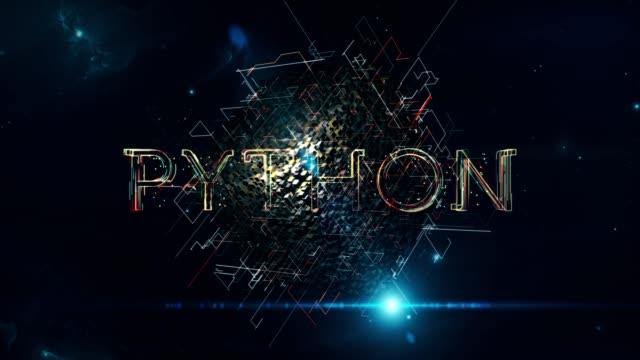 python cube - web address stock videos & royalty-free footage