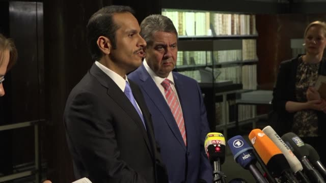 qatar dismisses as baseless a terrorism blacklist published by saudi arabia and its allies which linked individuals and organisations in doha to... - militant groups stock videos and b-roll footage