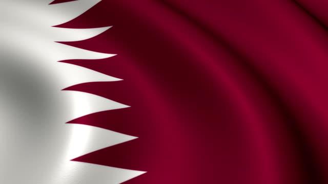 Qatar Flag Loopable