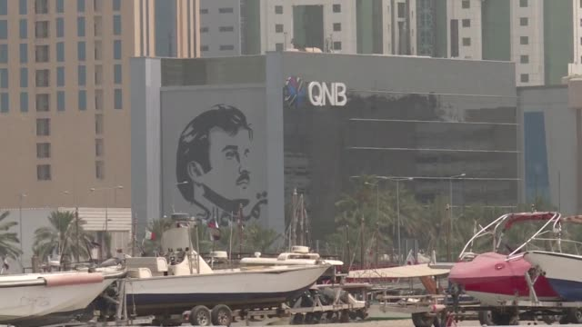qatar has weathered the economic impacts of a stifling saudi led blockade maintaining healthy growth but some sectors continue to pay the price a... - exclusive stock videos & royalty-free footage