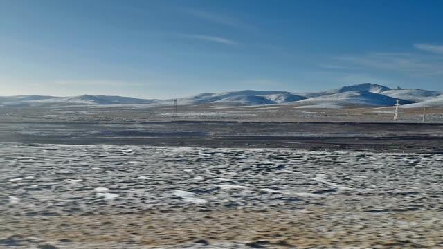 qinghai-tibet plateau in china 01 - tibetan plateau stock videos & royalty-free footage