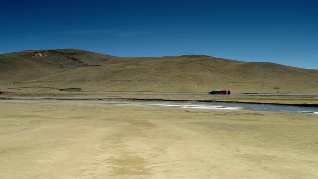 qinghai-tibet plateau in china 012 - tibetan plateau stock videos & royalty-free footage