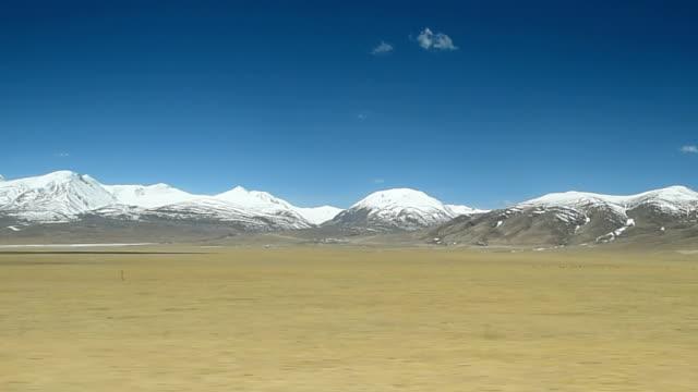 qinghai-tibet plateau in china 014 - tibetan plateau stock videos & royalty-free footage