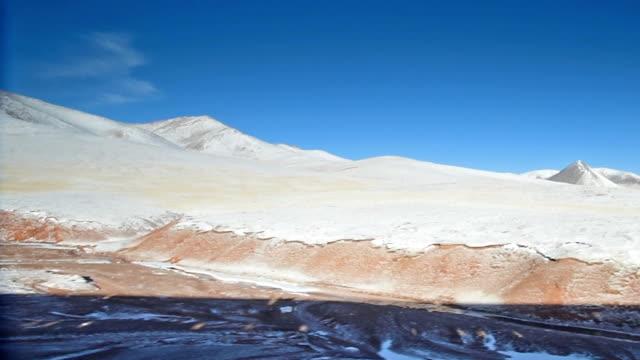 qinghai-tibet plateau in china 02 - tibetan plateau stock videos & royalty-free footage