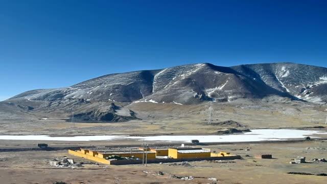 qinghai-tibet plateau in china 04 - tibetan plateau stock videos & royalty-free footage