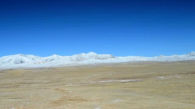 qinghai-tibet plateau in china 06 - tibetan plateau stock videos & royalty-free footage