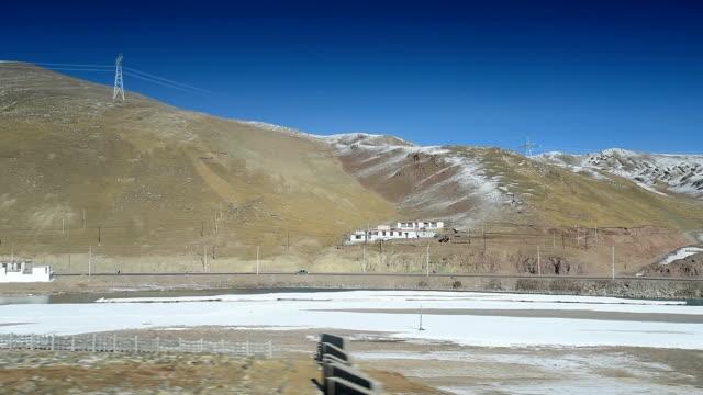 qinghai-tibet plateau in china 07 - tibetan plateau stock videos & royalty-free footage