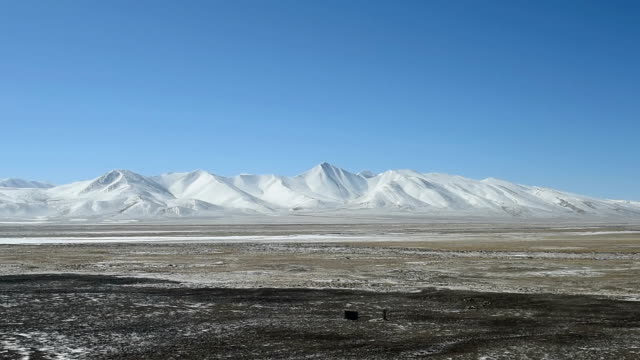 qinghai-tibet plateau in china 09 - tibetan plateau stock videos & royalty-free footage