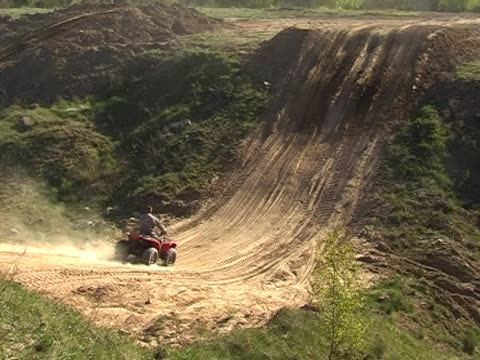 quad runner - off road car stock videos and b-roll footage
