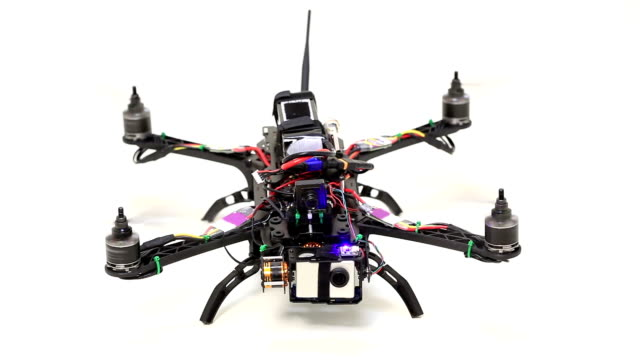 quadcopter take off - quadcopter stock videos & royalty-free footage