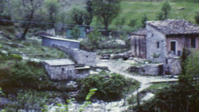 quaint village - italy (archival 1960s) - 1965 stock videos & royalty-free footage