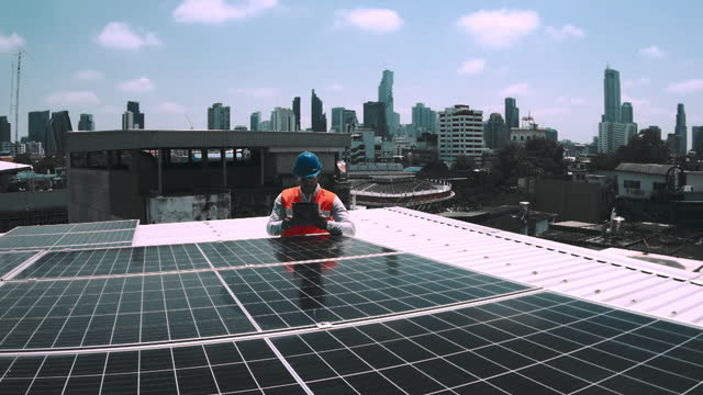 quality solar , southeast asia - installing stock videos & royalty-free footage