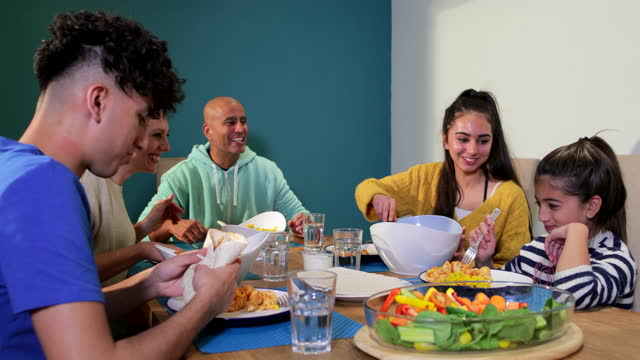 quality time - dining room stock videos & royalty-free footage