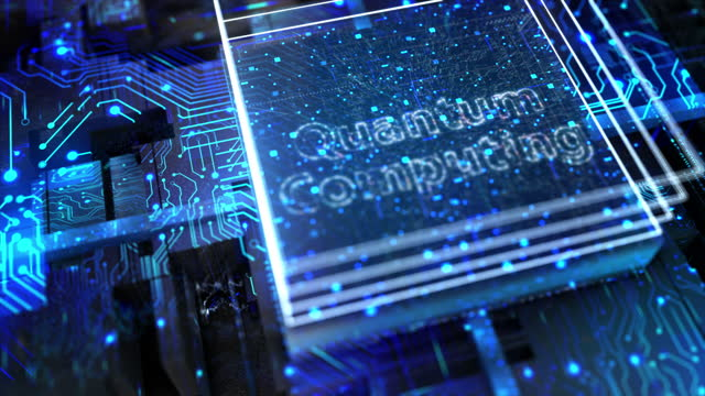 stockvideo's en b-roll-footage met quantum computing - birthplace of silicon valley