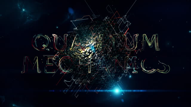 quantum mechanics cube - quantum physics stock videos & royalty-free footage