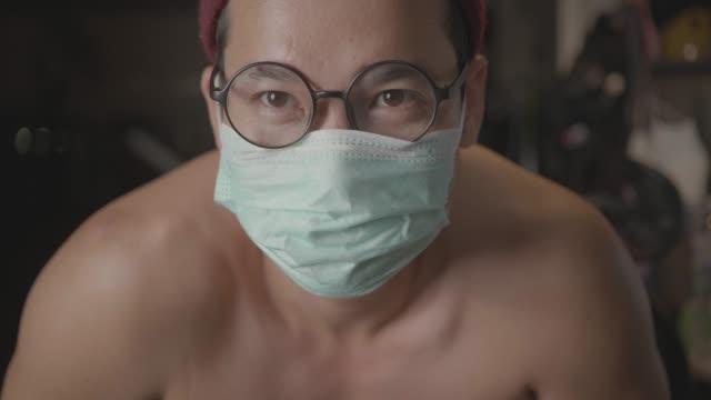 quarantine virus covid -19 - simbolo di pericolo ambientale video stock e b–roll