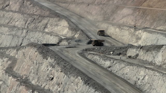 quarry lorries - mining stock videos and b-roll footage