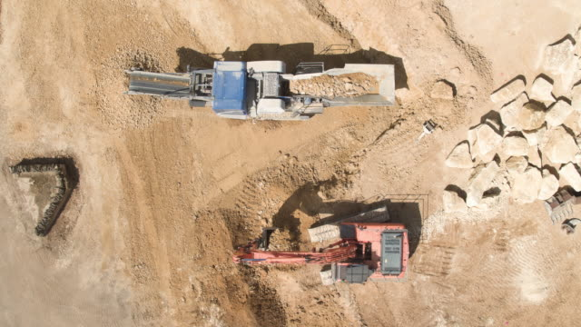 Quarry Site Impact Crushing