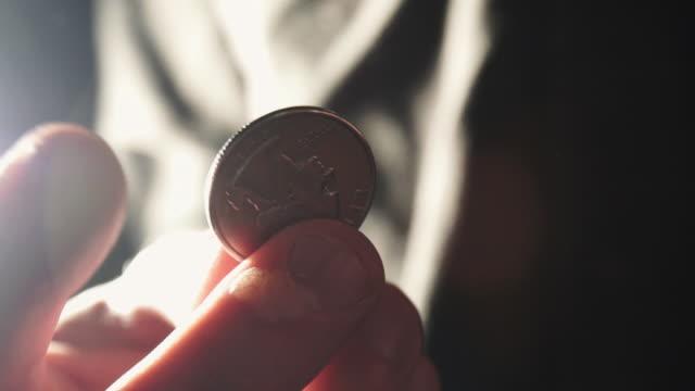stockvideo's en b-roll-footage met quarter - amerikaanse munt