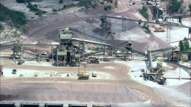 Quartzite Quarry  - Aerial View - South Dakota, Minnehaha County, United States