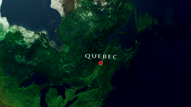 quebec 4k  zoom in - quebec stock videos and b-roll footage