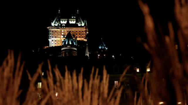 Quebec City and Chateau Frontenac at Night