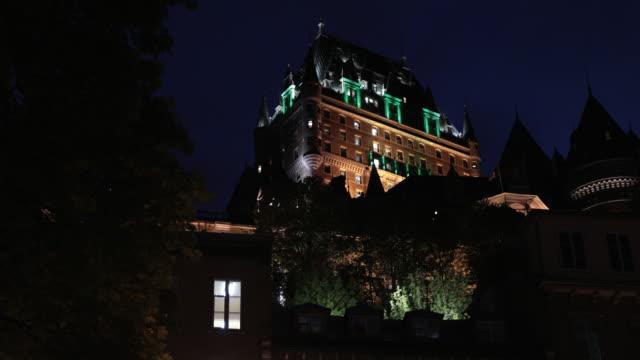 Quebec City at Twilight in Summer, Canada