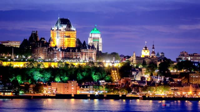 quebec city, qc - quebec stock videos and b-roll footage