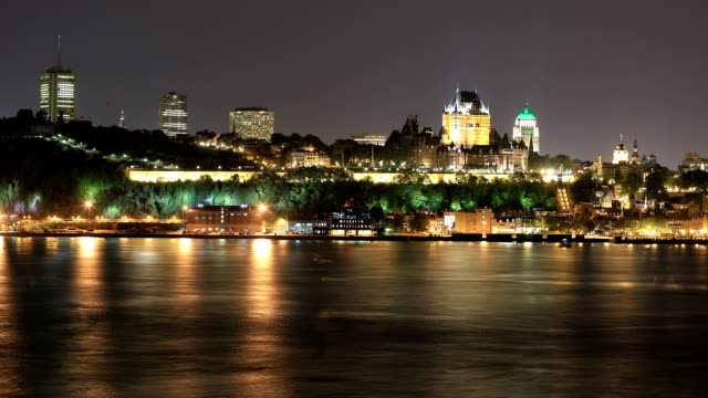 Quebec stad time-lapse