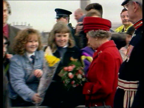queen and prince philip collection 1 t09039501 queen philip visits ulster - collection stock videos and b-roll footage