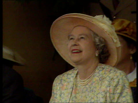 queen and prince philip collection 7 r24039505 25395 queen's south africa tour finishes durban queen elizabeth ii in yellow floral dress smiling... - durban stock videos and b-roll footage