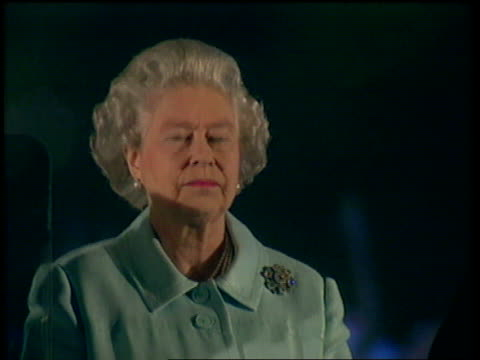 queen and prince philip collection 7 t02060209 2602 golden jubilee fireworks london buckingham palace queen elizabeth ii watching fireworks queen and... - collection stock videos and b-roll footage