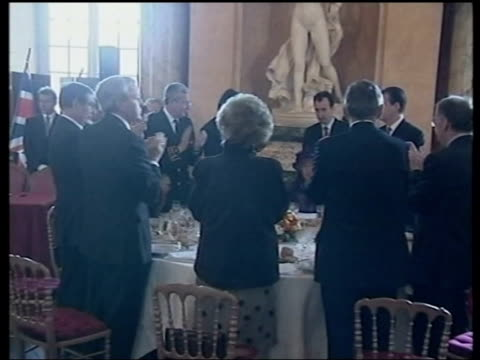 queen and prince philip collection 8 5182/04 queen elizabeth ii continues french visit to honour the 100th anniversary of the entente cordiale with... - queen elizabeth hall stock videos and b-roll footage