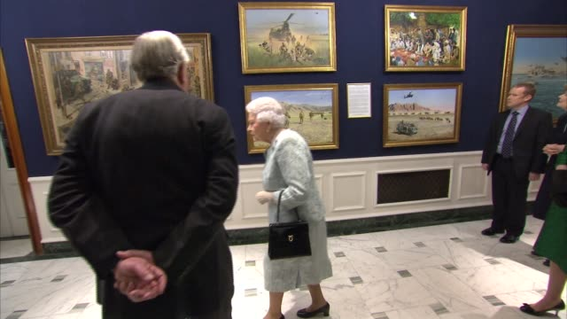 Queen and Princess Anne attend reception at the Army and Navy Club ENGLAND London Mayfair Army and Navy Club INT Queen Elizabeth II and Princess Anne...