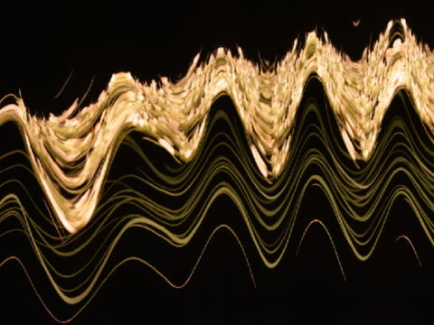 slo mo t/l cu cgi queen anne's lace forming pattern  - spiralmuster stock-videos und b-roll-filmmaterial