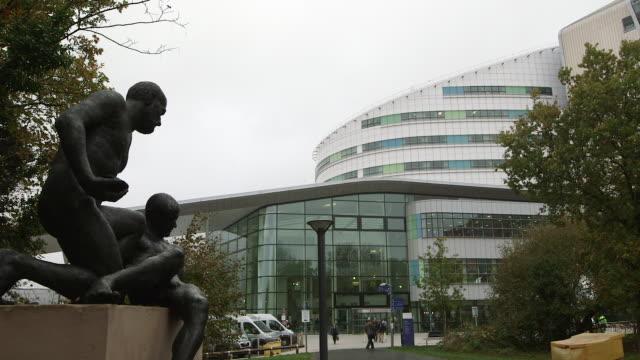 queen elizabeth hospital, birmingham, uk. - nhs stock videos and b-roll footage