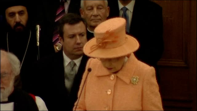 queen elizabeth ii attends opening of church of england general synod speeches time of challenge and opportunity for the church of england queen... - the queen stock videos and b-roll footage
