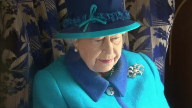 queen elizabeth ii becomes longest reigning monarch int queen sitting in train carriage as along - carriage stock videos and b-roll footage