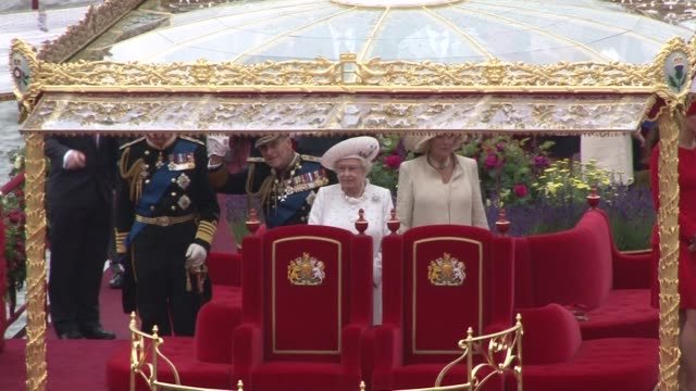 Queen Elizabeth II Camilla Duchess of Cornwall Prince Charles Prince of Wales Prince Philip The Duke of Edinburgh Catherine Duchess of Cambridge...
