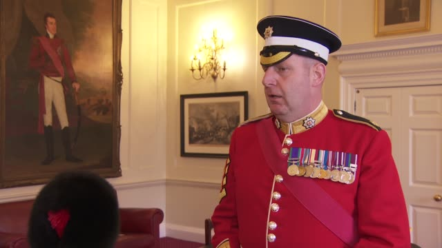 vern stokes interview england london int vern stokes interview sot - war and conflict stock-videos und b-roll-filmmaterial