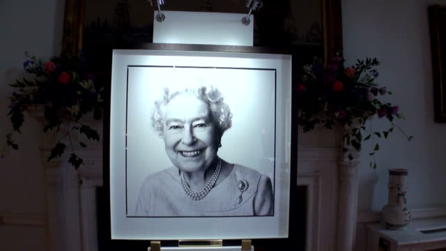 queen elizabeth of the united kingdom received warm celebration in japan for her 89th birthday and for becoming the oldest british monarch ever the... - good condition stock videos and b-roll footage